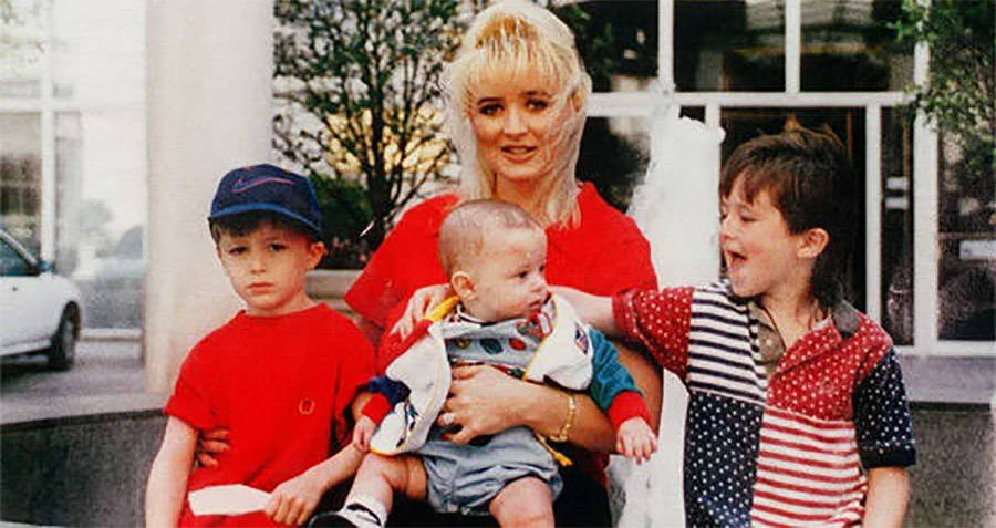 Darlie Routier With Her Kids