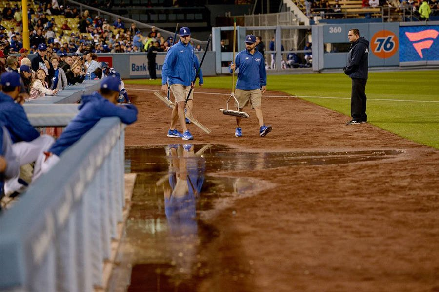 Dodgers Stadium Cleanup