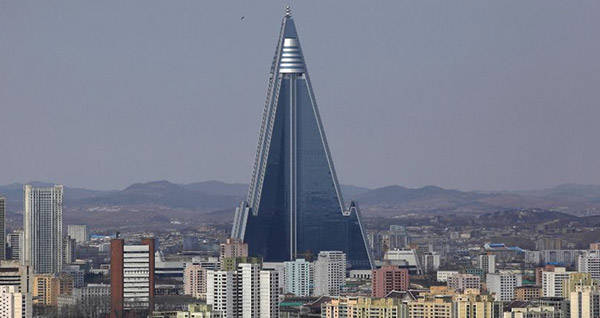 "North Korea's Ryugyong Hotel – The ""Hotel Of Doom"""