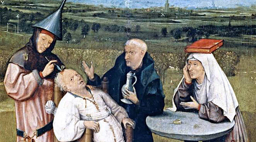 Trepanation Painting