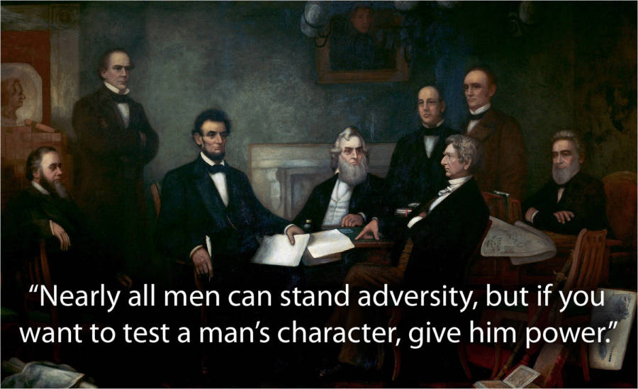 Abraham Lincoln Quotes About Power