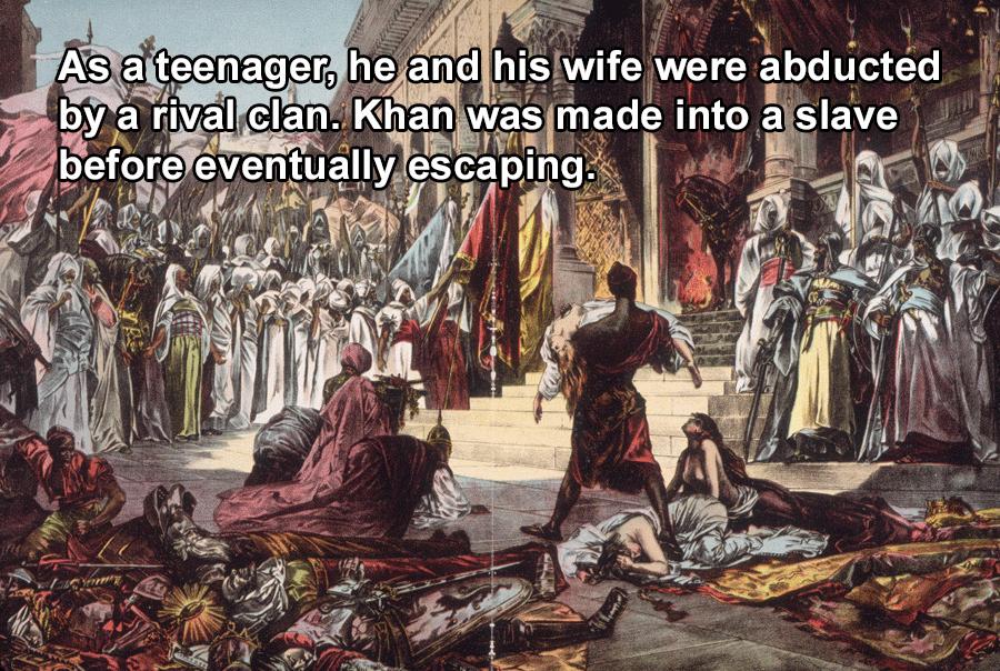 Genghis Khan Enslaved