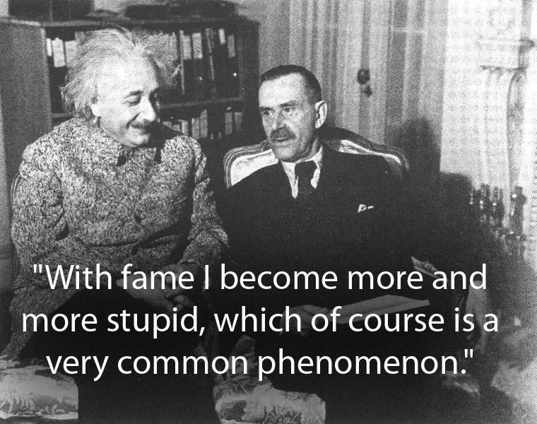Fame And Stupidity
