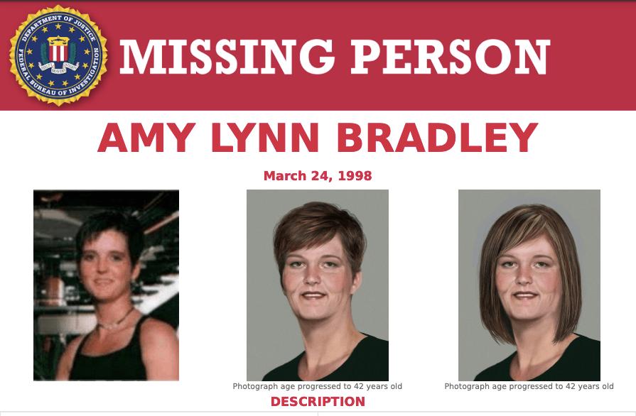 Age Progression Of Amy Bradley