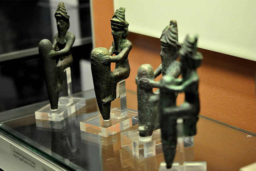 Figurines Anunnaki Dieties