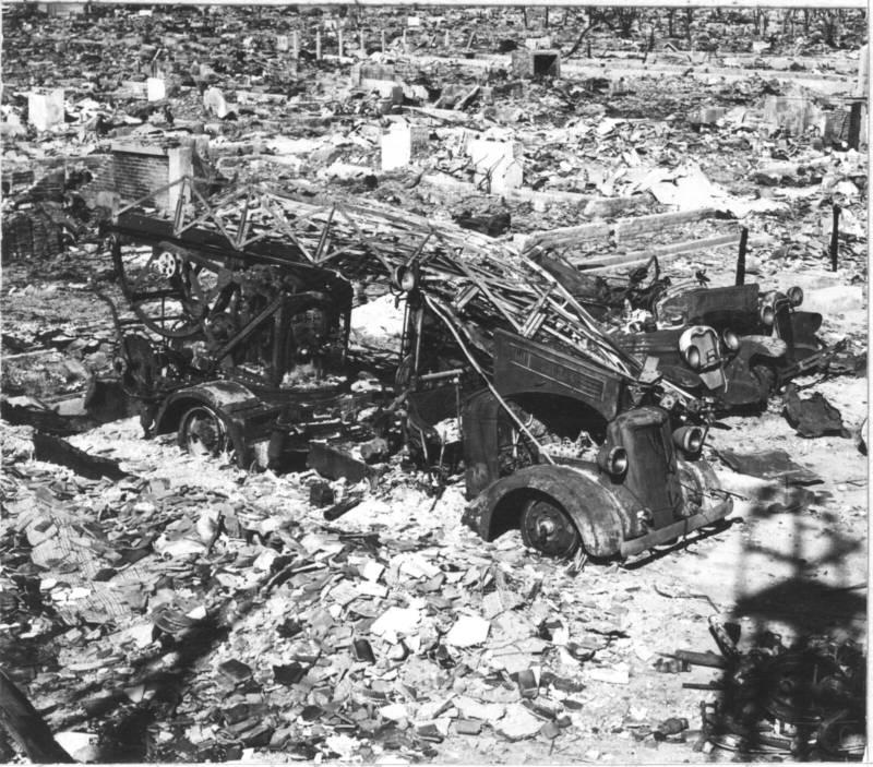 Fire Truck In Hiroshima