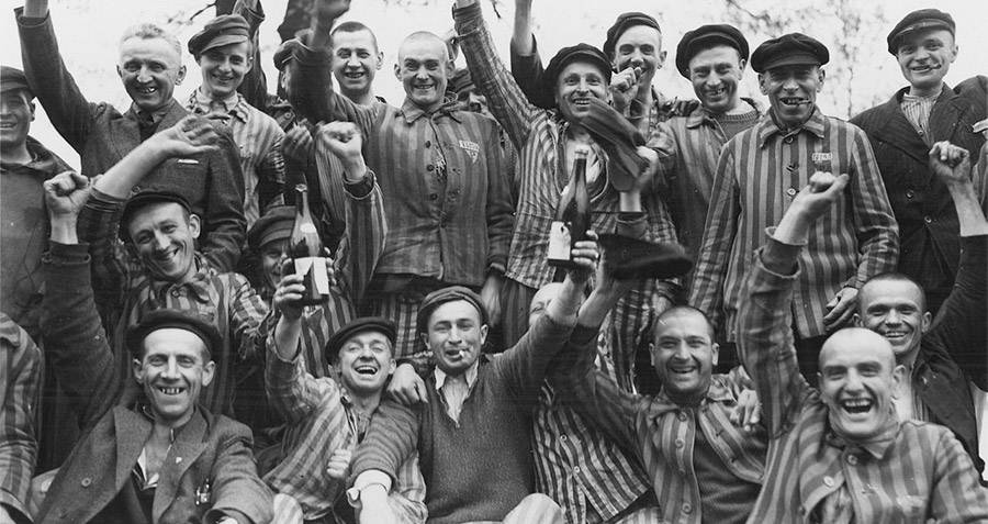 Liberation Of Dachau Concentration Camp
