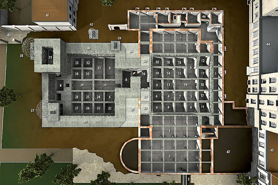 Fuhrerbunker Floorplan