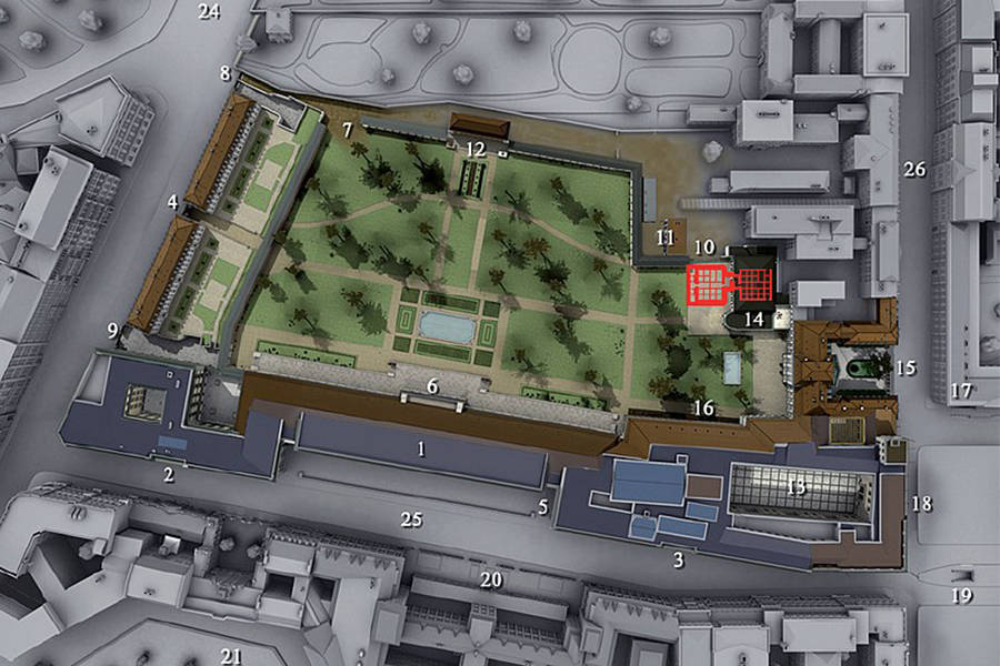 Fuhrerbunker Location