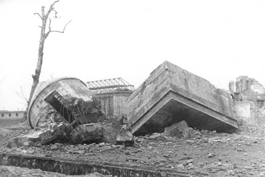 Fuhrerbunker Ruins