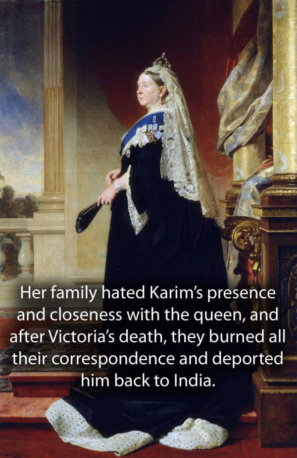 Abdul Karim And The Royal Family