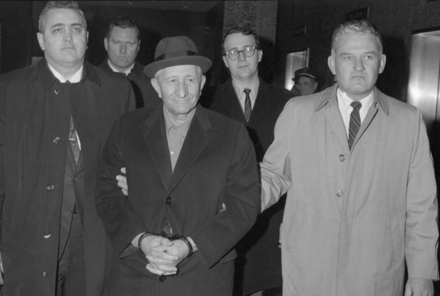 Carlo Gambino Arrested