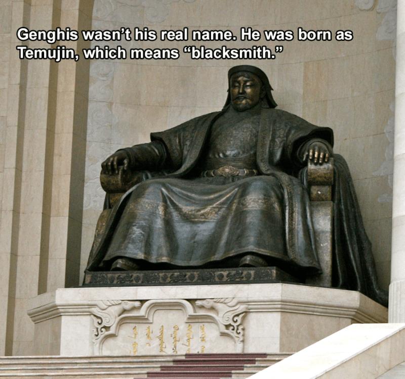 Genghis Blacksmith
