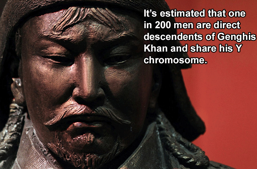 Genghis Khan Facts Descendants