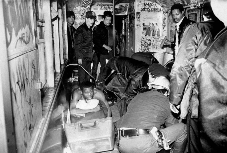 Goetz Subway Train Aftermath
