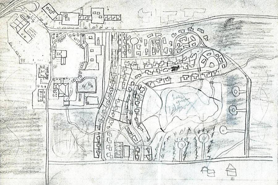 Golden State Killer Neighborhood Sketch