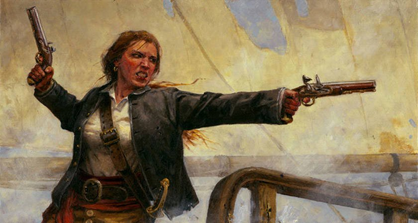 Woman Pirate Warrior Grace O'Malley