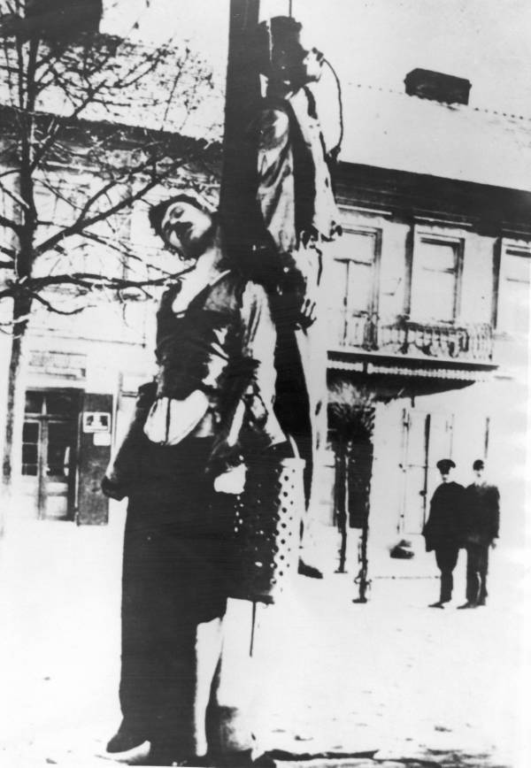 Hanged Men In Nazi-Occupied Poland