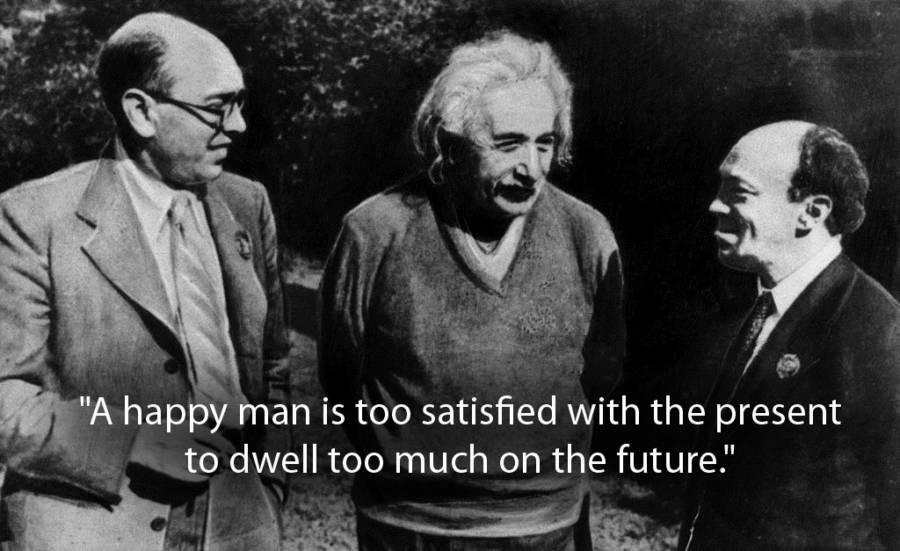 Albert Einstein Quotes About Happiness