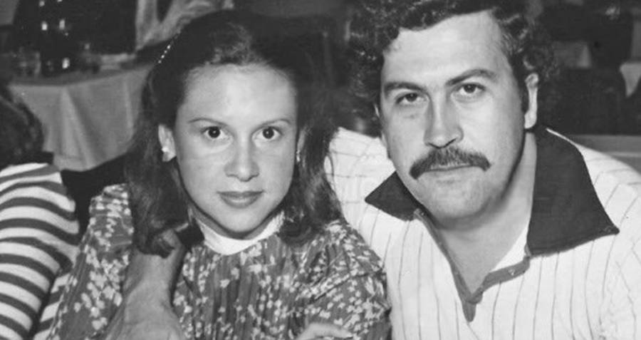 Maria Victoria Henao And Pablo Escobar