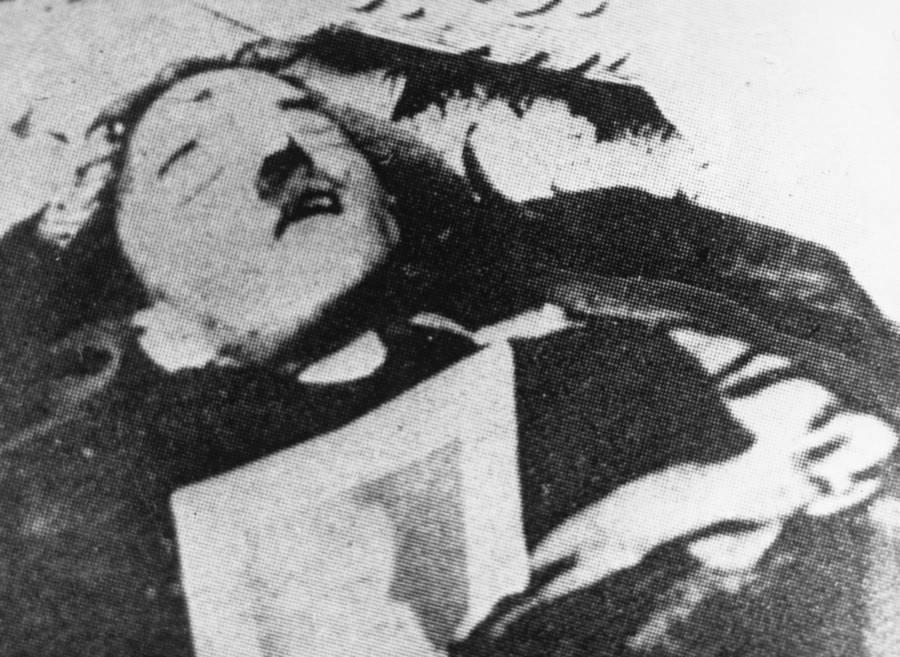 Hitler Dead Body