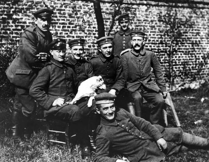 Adolf Hitler During World War 1