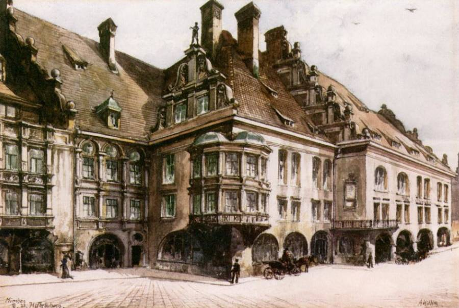 Hofbrauhaus Munich Painting