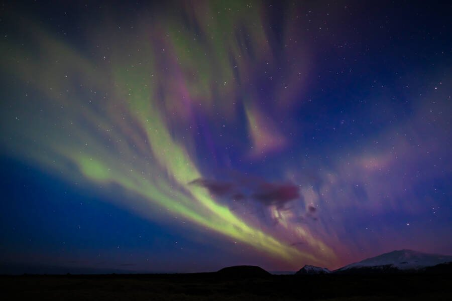 Iceland Night Sky