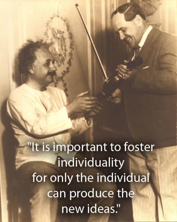 Albert Einstein Quotes About Individuality