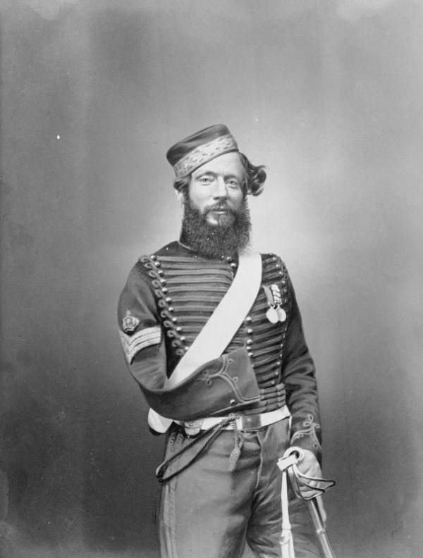 Injured Crimean War Soldier