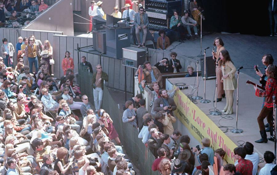 Janis Joplin Crowd