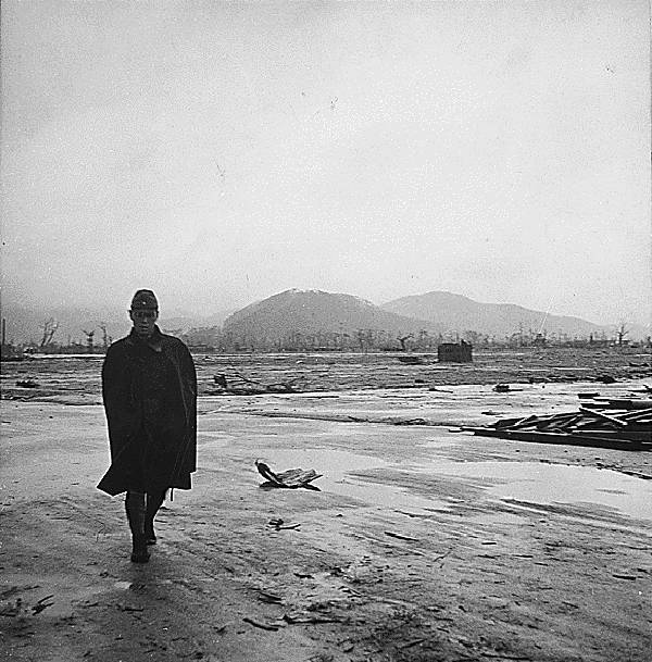 Japanese Soldier In Hiroshima