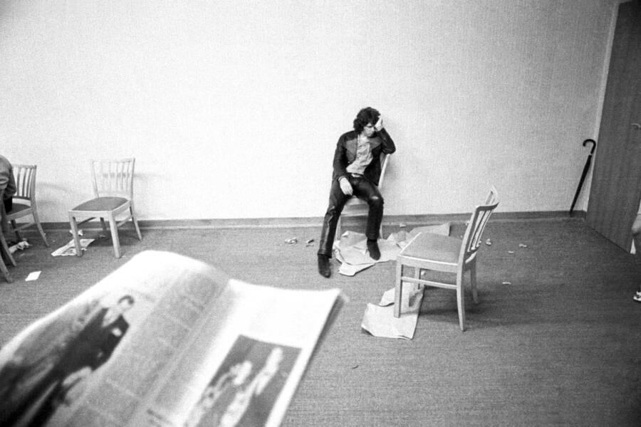 Jim Morrison Backstage