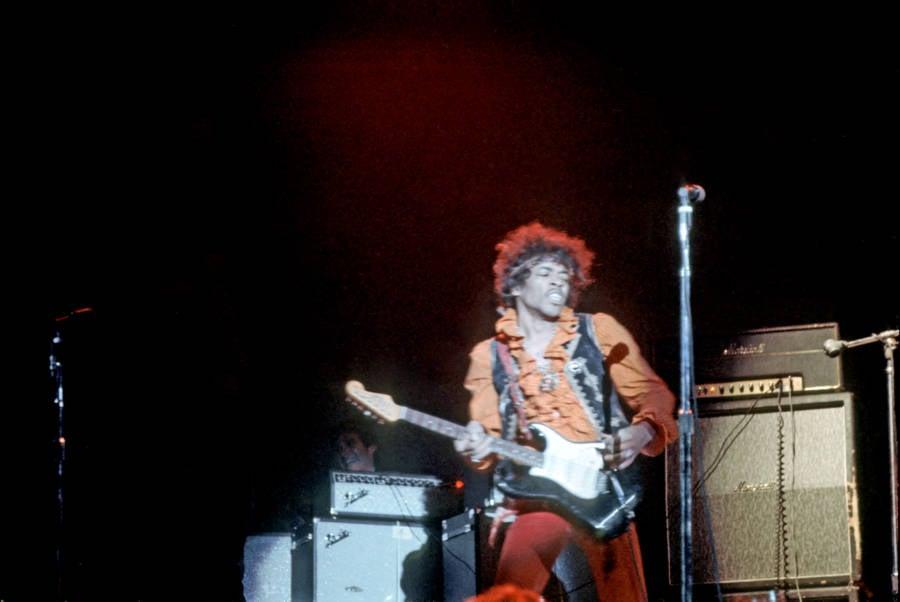 Jimi Hendrix At Monterey Pop Festival