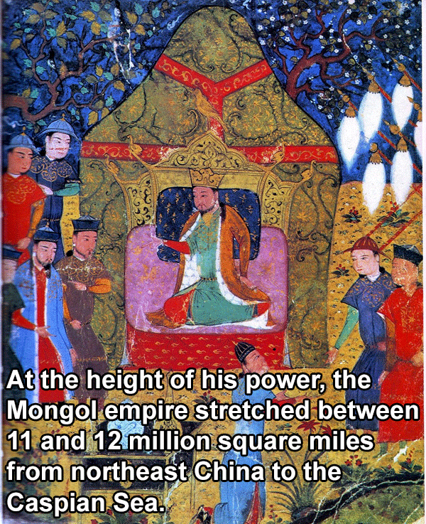 Genghis Khan's Throne