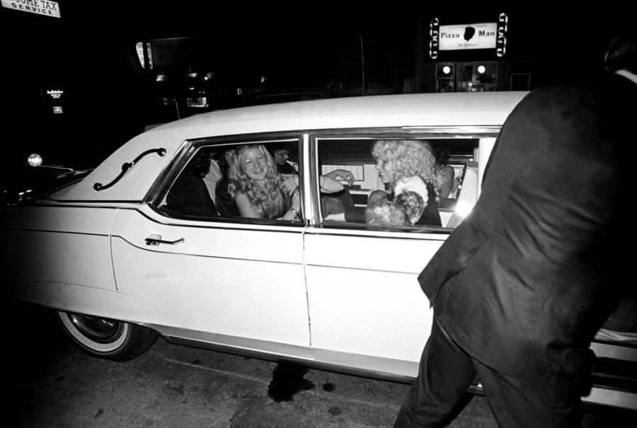 Led Zepplin In A Limo With Sable Starr