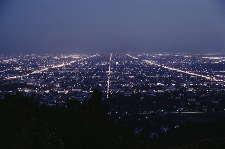 Los Angeles At Nght