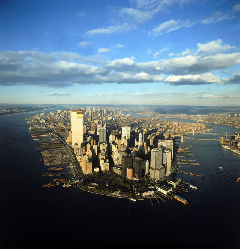Historical Aerial Photos Manhattan