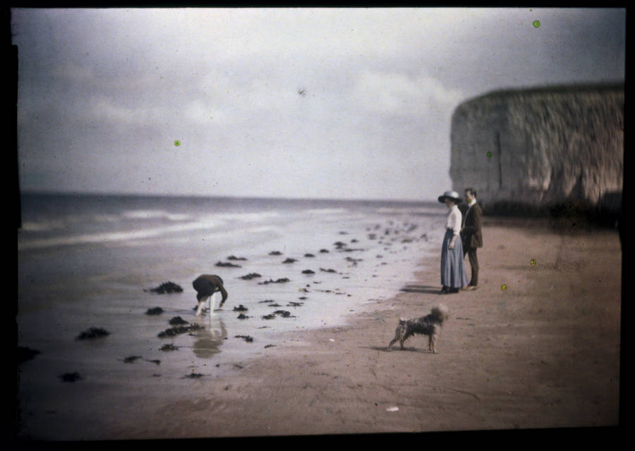 Margate Beach Old Color Photos