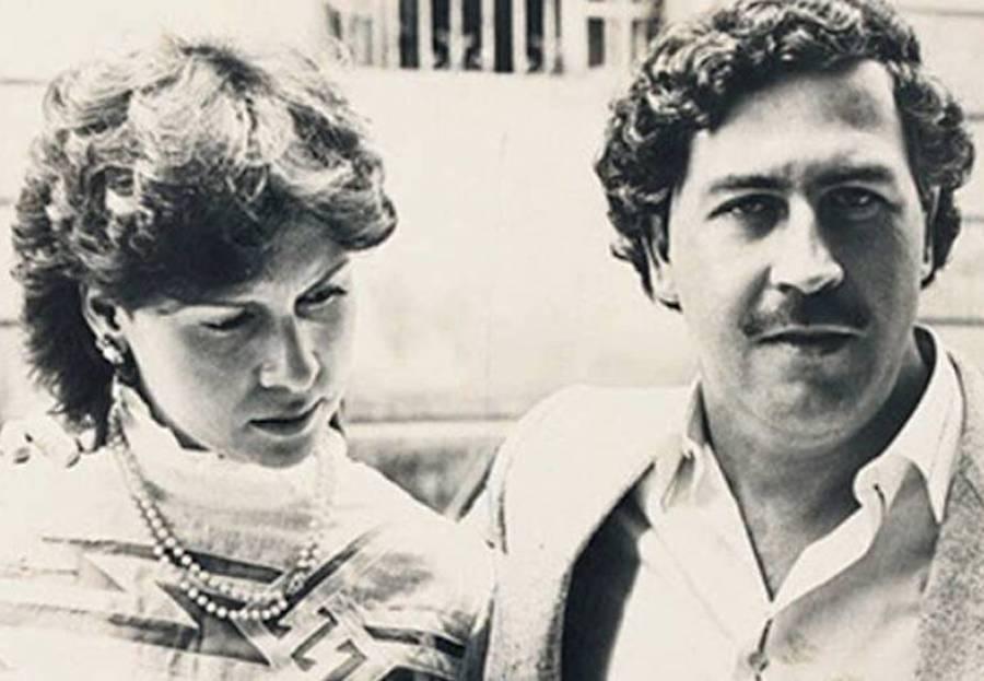 Maria Henao And Pablo Escobar