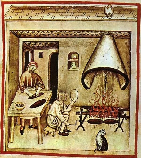 Medieval Roast Cat