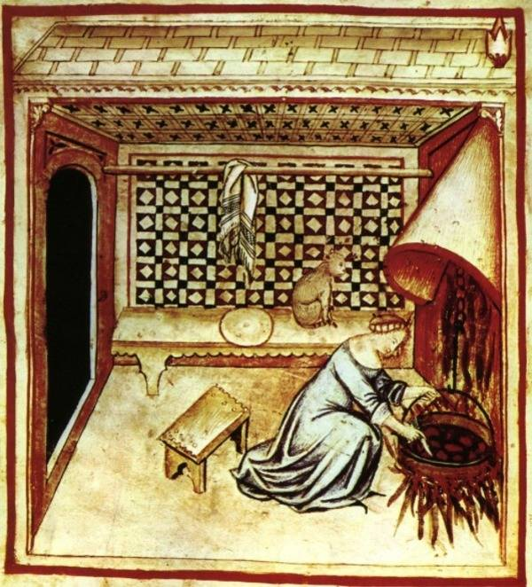 Medieval Dinner Preparation