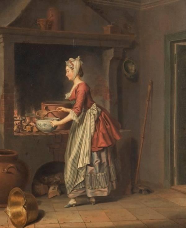 Medieval Woman Dinner