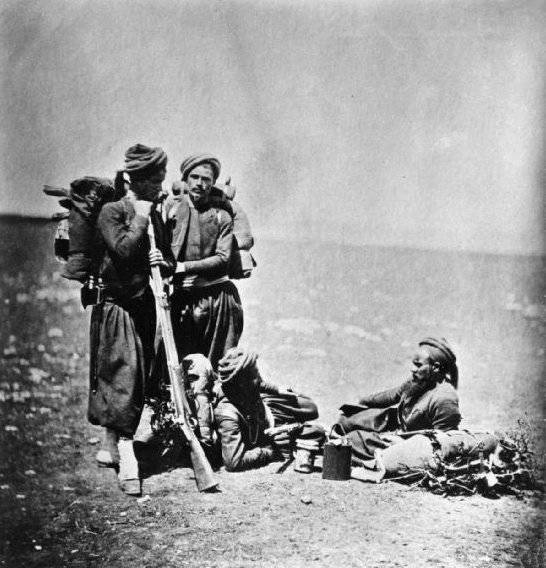 Men Resting During War