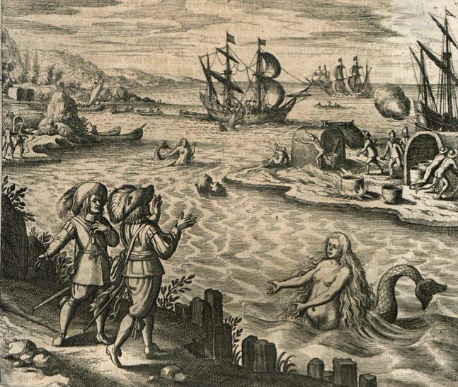 Drawing Of Mermaid Sightings