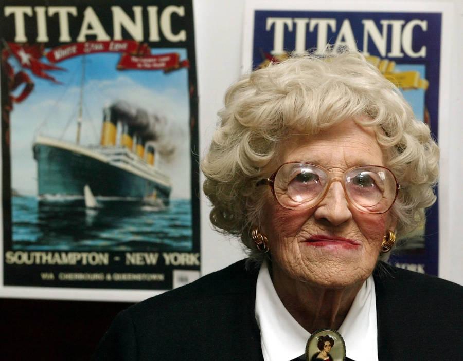 Milvina Dean Titanic Posters