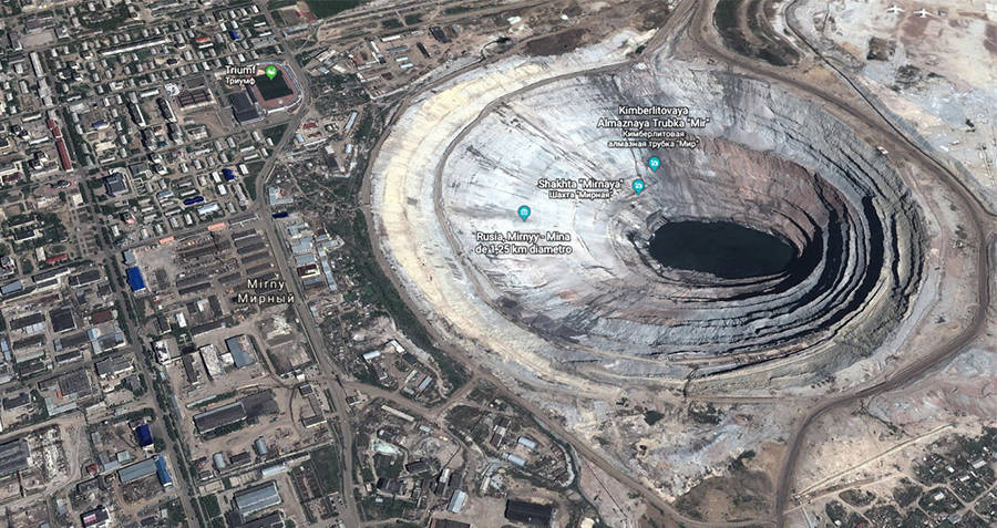 Mirny Mine Photograph