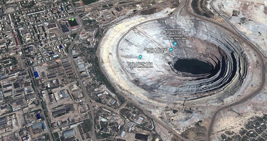 Mirny Mine Scale