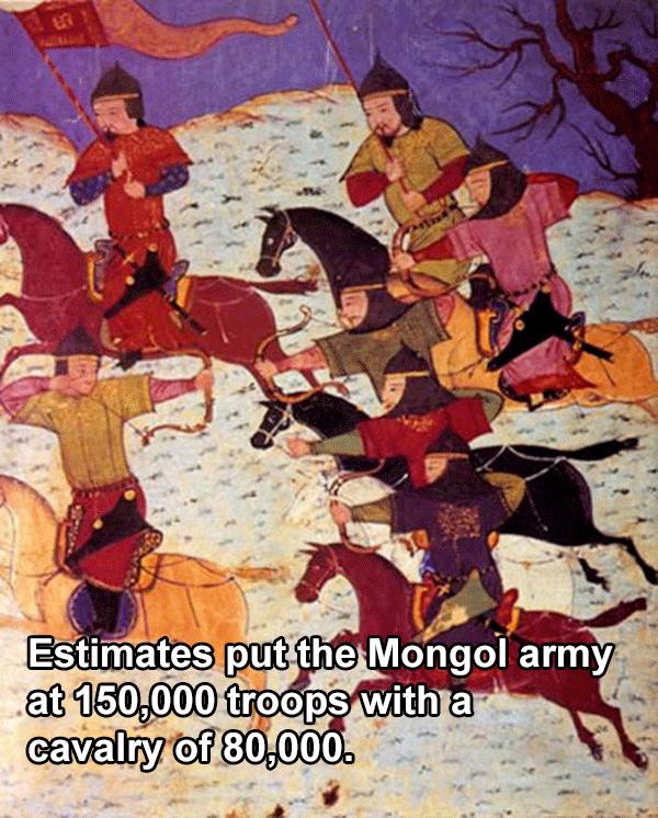 Mongol Calvary