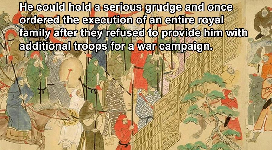 Mongol Empire Executions